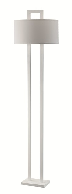 Contemporary style metal floor lamp APEX FL by ENVY
