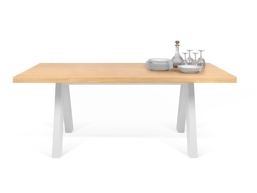 Rectangular Wood Veneer Dining Table APEX | Table By TemaHome