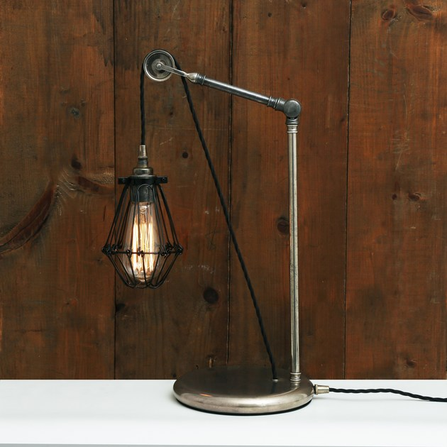 APOCH PULLEY CAGE TABLE LAMP By Mullan Lighting
