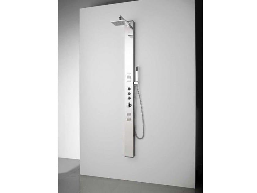 Colonna doccia termostatica con doccetta apol krion