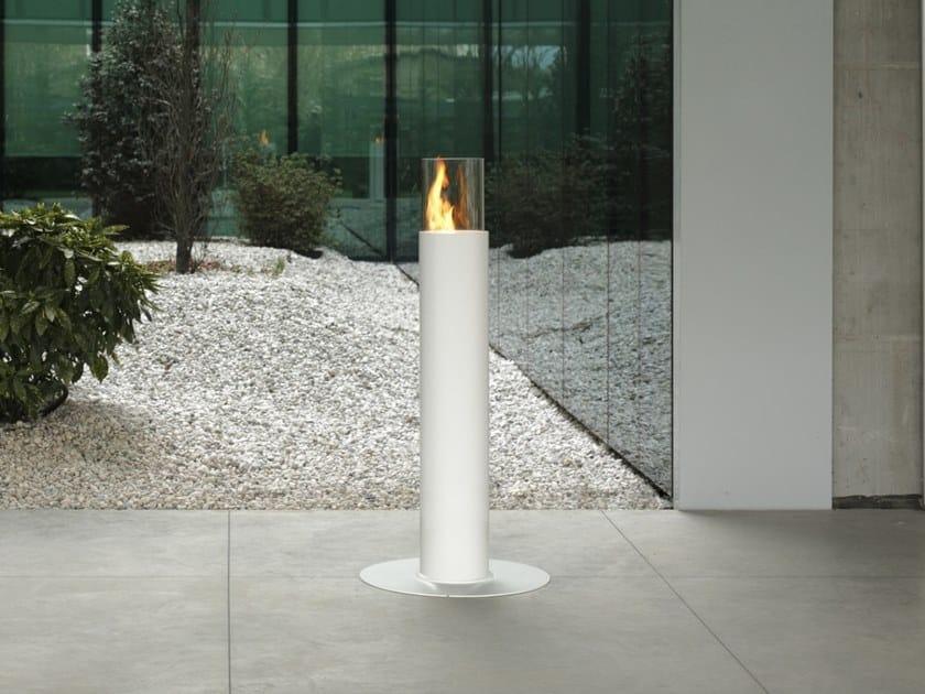 Caminetto freestanding a bioetanolo MINERVA by ACQUAFUOCO