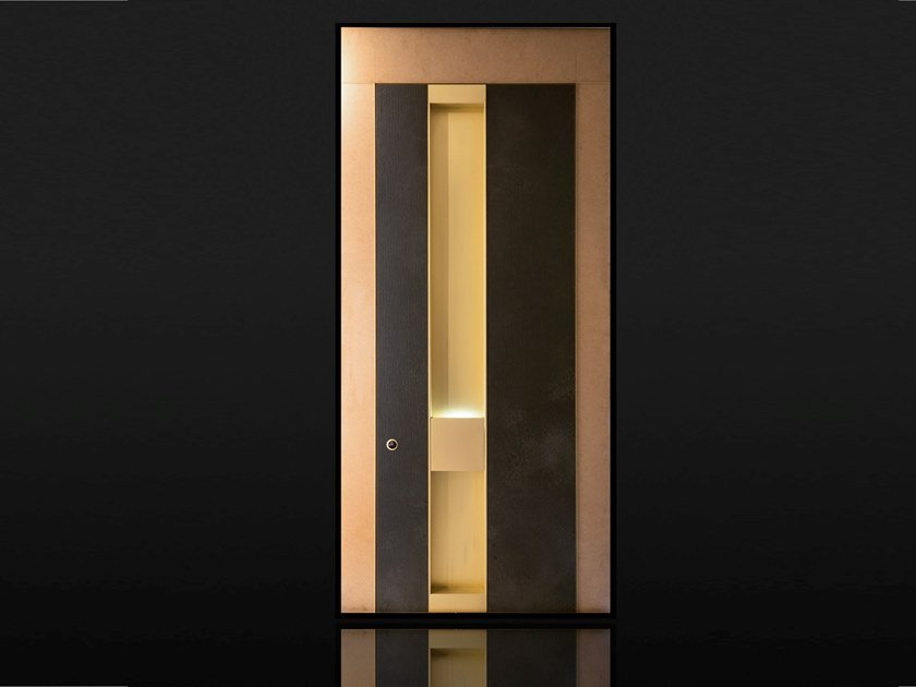 Pivot safety door with electronic lock APOLLO by Ercole