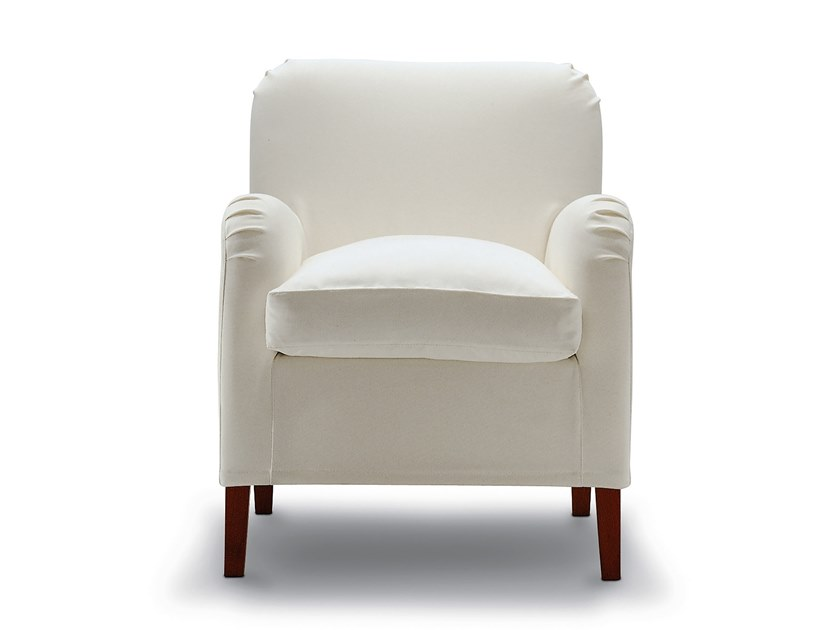 Fabric armchair with armrests APOLLO by Flexstyle