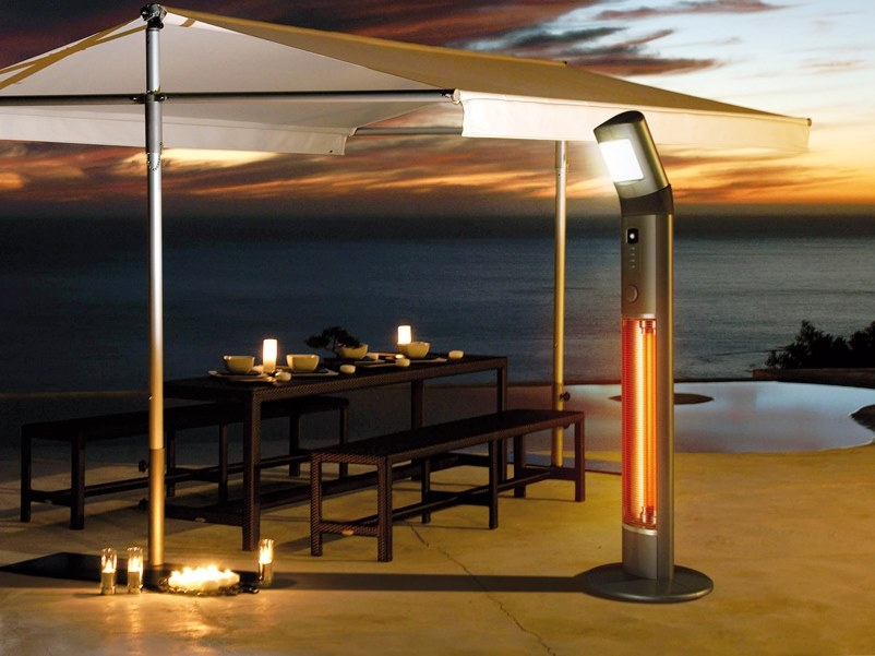 Infrared tower heater APOLLO by Infralia