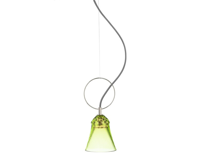 LED direct light glass pendant lamp APOLLO   Pendant lamp by Saint-Louis