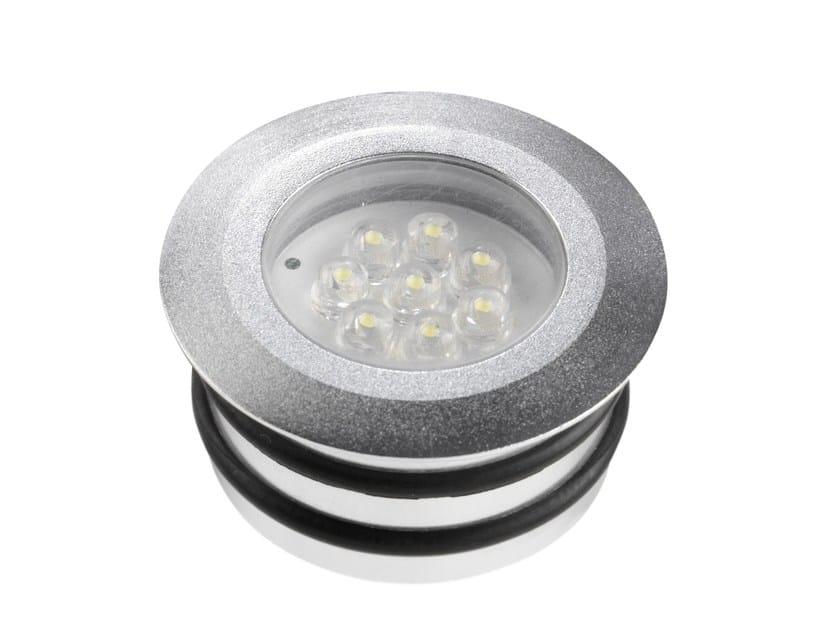 Segnapasso a led in alluminio per esterni apolo by led bcn
