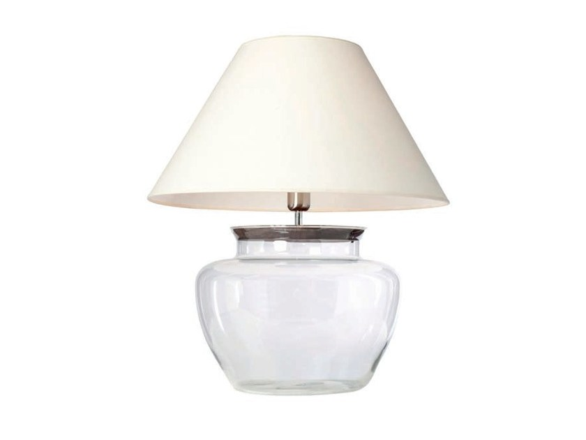 Glass table lamp APPLE 40 by Aromas del Campo