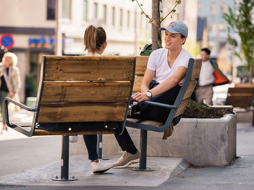APRIL SEAT HIGH BACK | Seduta da esterni