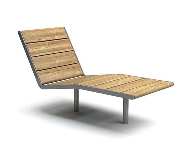 APRIL SUNBENCH | Seduta da esterni