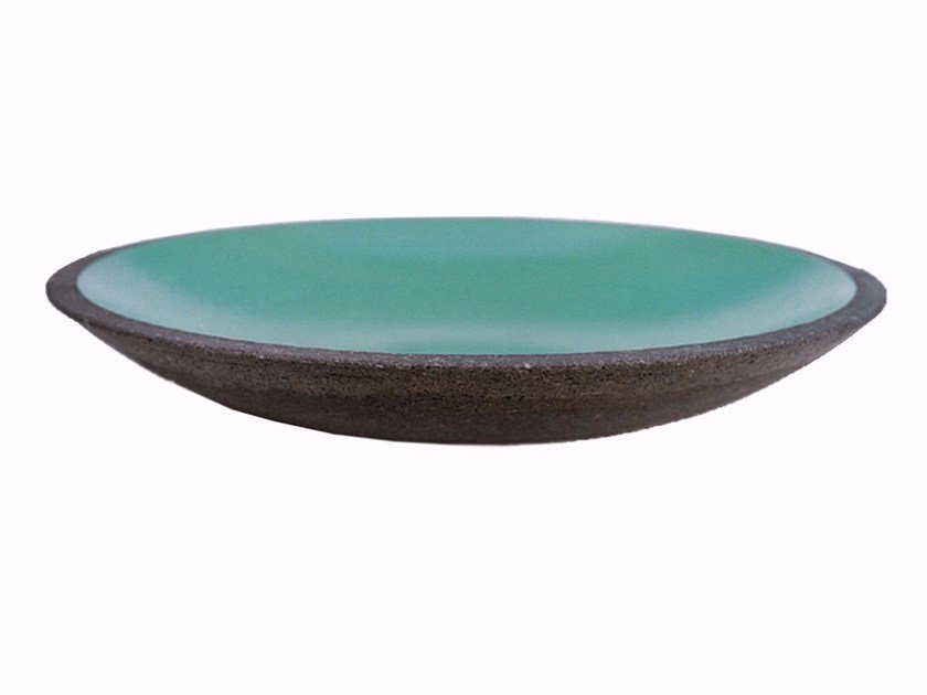 Round stone washbasin AQ4 by Made a Mano