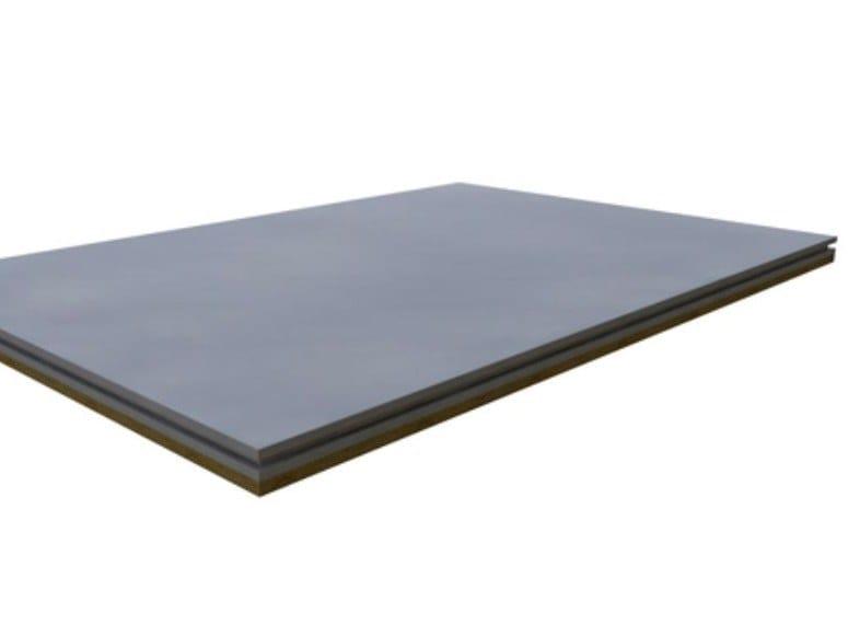 Pannello in cemento Portland per pavimento a secco AQUAPANEL FLOOR MF by Knauf Italia