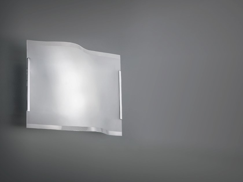 Crystal wall light AQUATTRO | Wall light by Cattaneo
