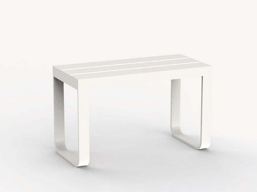 Aluminium garden bench AQUILA by Ciela Mare