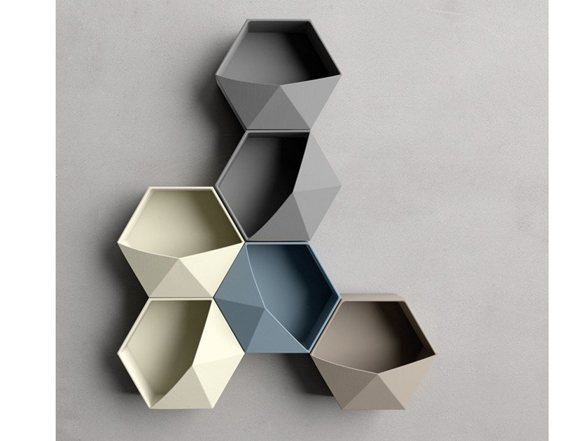 Vaso de parede de cerâmica AQUILONE by Adriani e Rossi edizioni