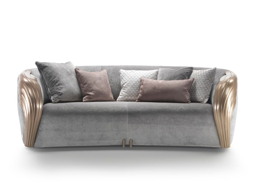 2 seater fabric sofa AQVILA | 2 seater sofa by Elledue Arredamenti
