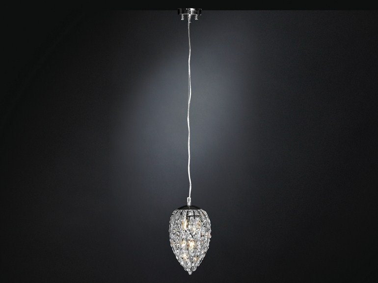 Pendant lamp with crystals ARABESQUE EGG | Pendant lamp by VGnewtrend