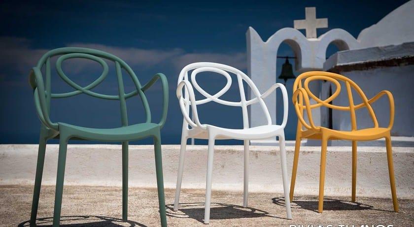 Impilabile Plastica Design Dream Sedia Italy Arabesque In 4L5RjqA3