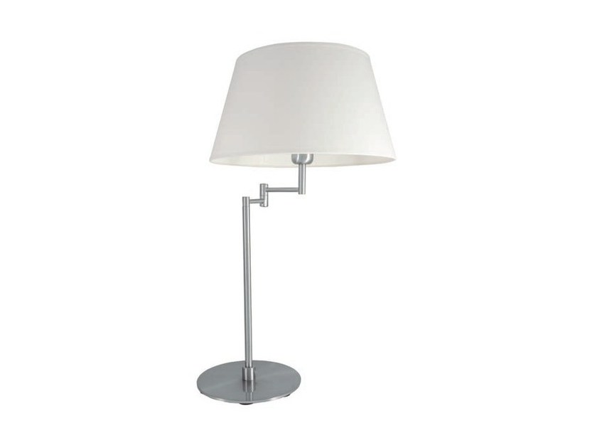 Adjustable metal table lamp with fixed arm ARAM | Table lamp by Aromas del Campo