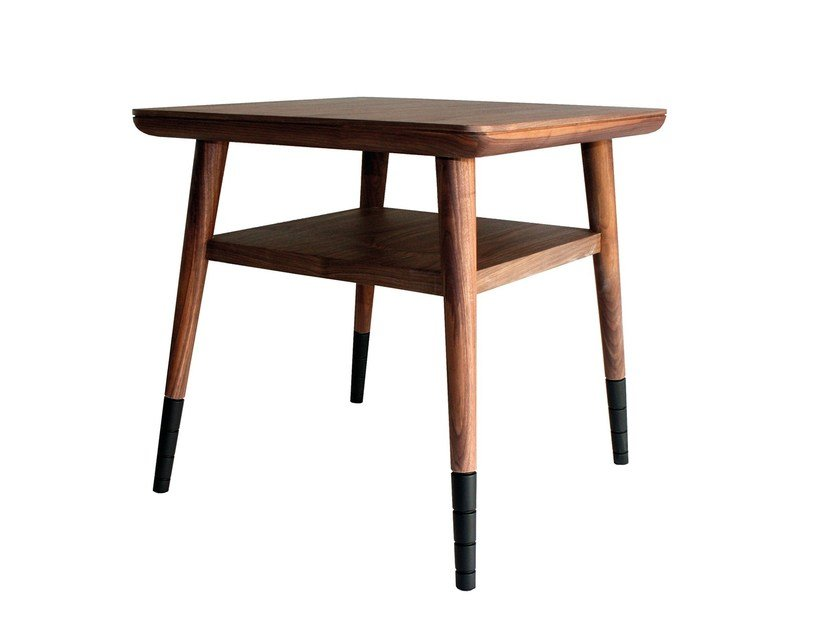 Square side table with storage space ARANHA | Side table by Branco sobre Branco