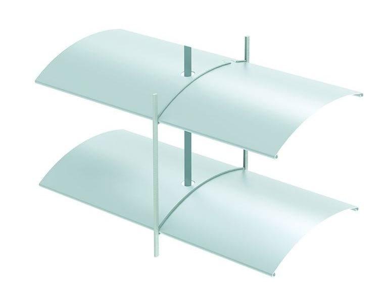 Frangisole orientabile scorrevole in alluminio estruso ARB 80 | Frangisole by HELLA