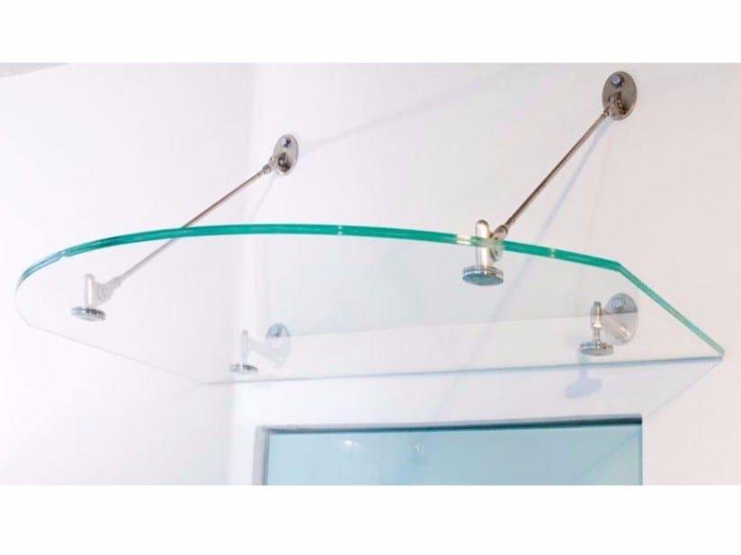 Glass door canopy ARCADE by Colcom Group
