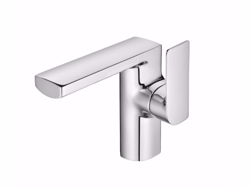 Countertop single handle 1 hole chromed brass washbasin mixer ARCH | 1 hole washbasin mixer by JUSTIME