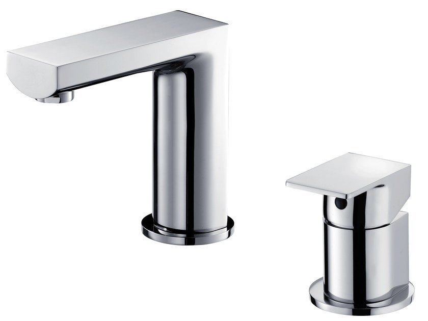 2 hole countertop single handle washbasin tap ARCH | 2 hole washbasin tap by JUSTIME
