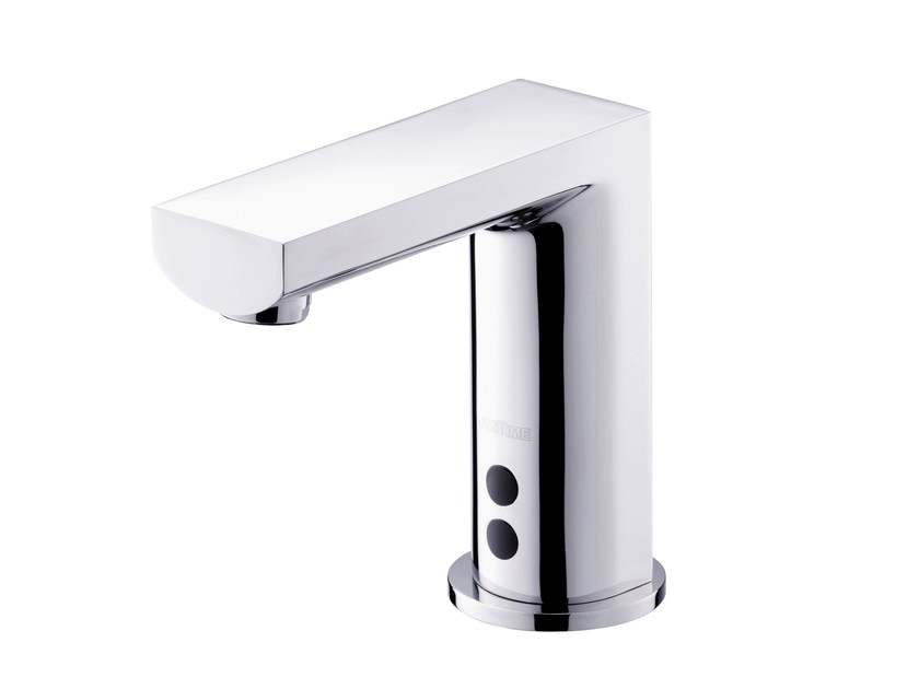 Countertop electronic 1 hole washbasin tap ARCH | Washbasin tap by JUSTIME