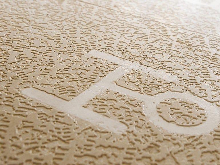 Trani stone flooring ARCHAIC LANGUAGE by Lithos Mosaico Italia