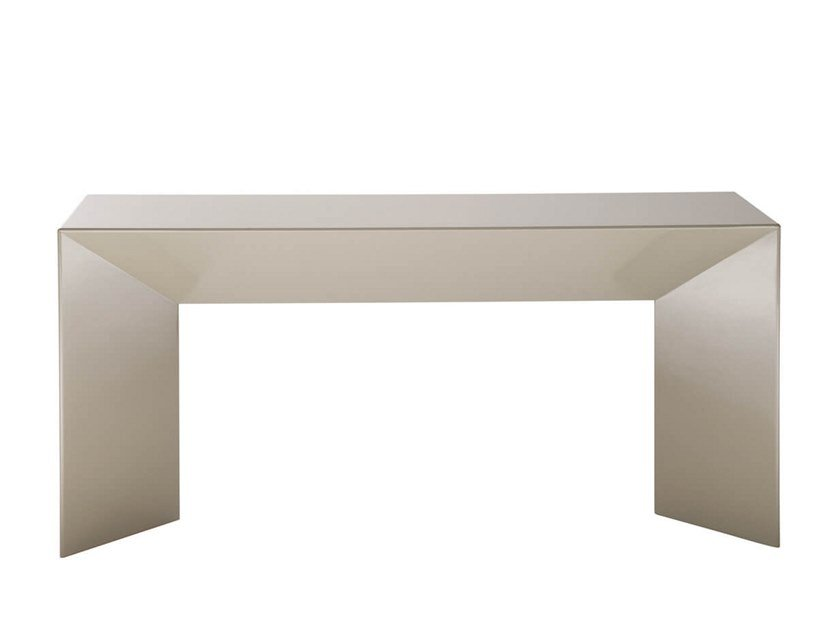Lacquered rectangular console table ARCHE by HC28