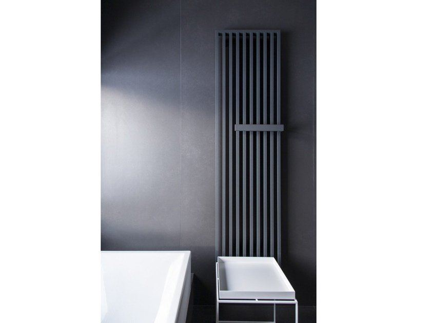Vertical wall-mounted steel decorative radiator ARCHE PLUS by VASCO