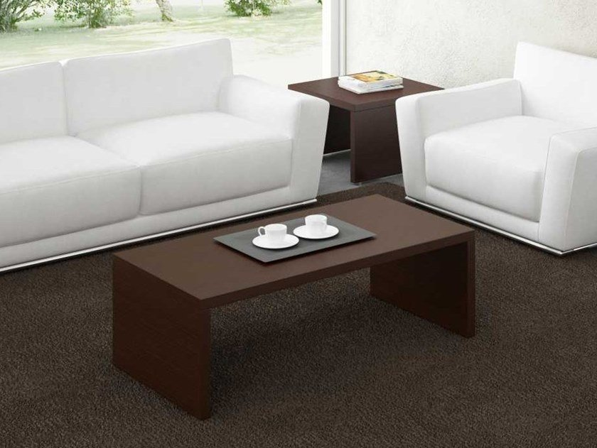 Rectangular wenge coffee table ARCHE | Rectangular coffee table by Bralco