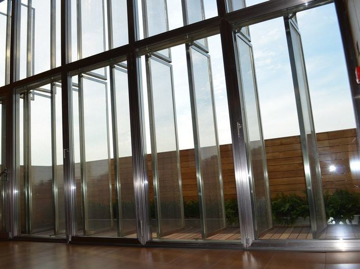 Metal solar shading ARCHI-SCREEN® by Costacurta