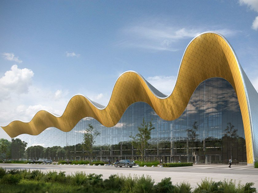 ARCHICAD 23 Irina Viner-Usmanova Rhythmic Gymnastics Center in the Luzhniki Complex, Moscow, Russia  CPU PRIDE