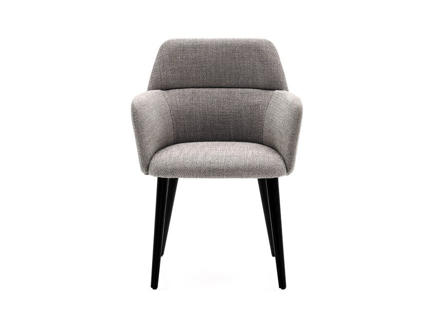 Fabric chair with armrests ARCHIE by Ditre Italia