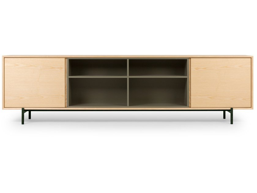 Sideboard with sliding doors ARCHIMEDE6 by True Design