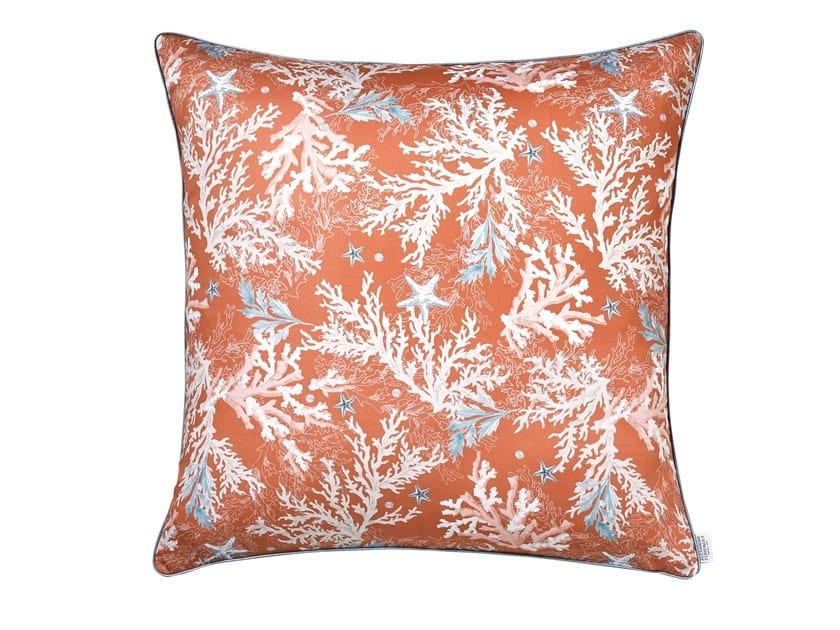Printed cotton pillow case ARCHIPEL | Pillow case by Alexandre Turpault