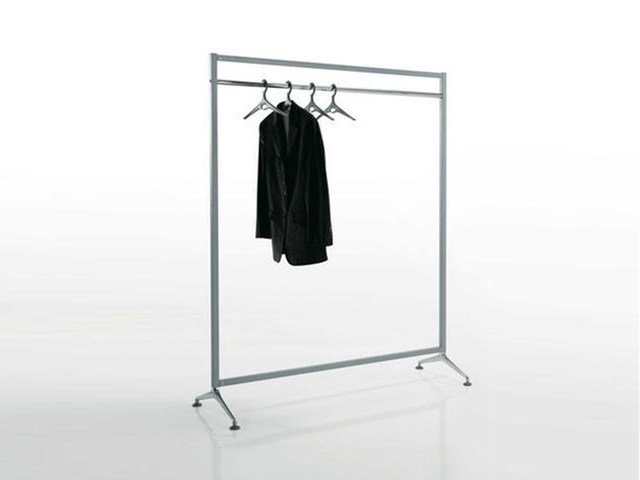 Powder coated steel coat rack ARCHISTAND by Caimi Brevetti
