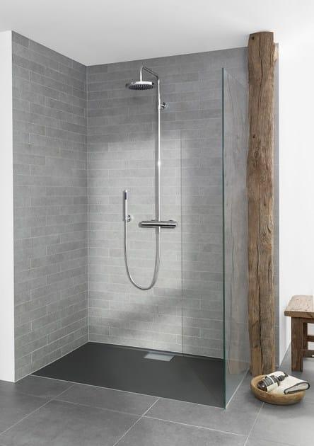 flache duschwanne hppe duschwanne x x duschtasse x x x x cm rechteck with flache duschwanne. Black Bedroom Furniture Sets. Home Design Ideas