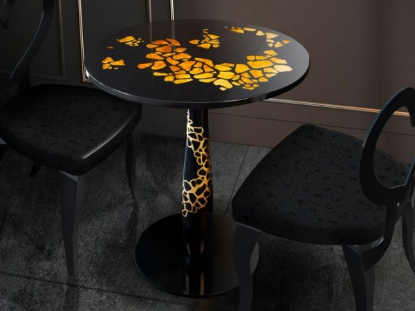 Tempered glass table ARCIPELAGO by Unica by Tecnotelai