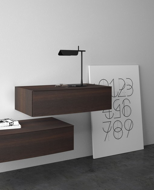 Solid wood chest of drawers ARCO by PIANCA