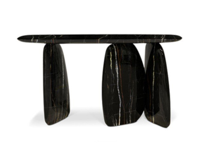 Marble effect console table ARDARA | Console table by BRABBU