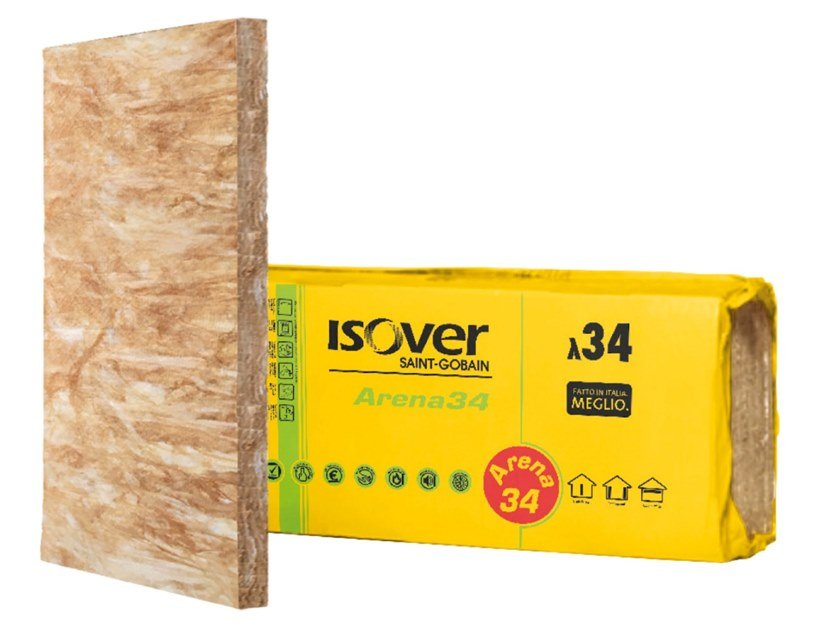 Thermal insulation panel ARENA 34 by Saint-Gobain ISOVER