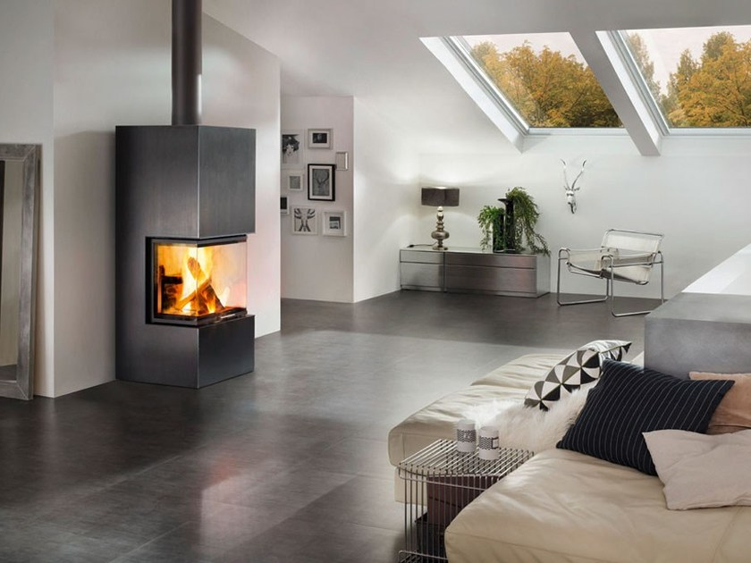 Wood-burning stove ARES by SPARTHERM