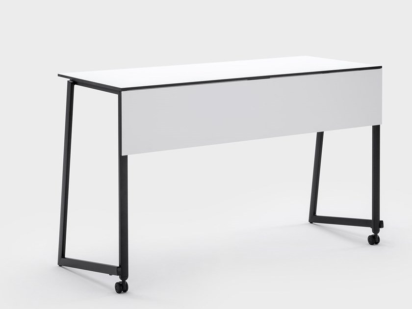 Rectangular wooden contract table ARES by Viganò