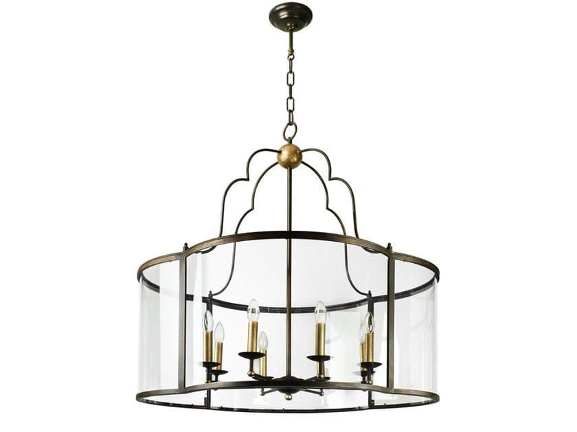 Handmade metal pendant lamp AREZZO | Pendant lamp by Abrissi