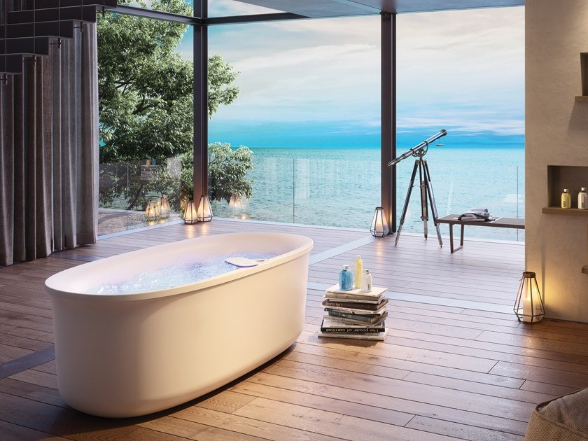 ARGA | Freestanding bathtub Arga Collection By Jacuzzi