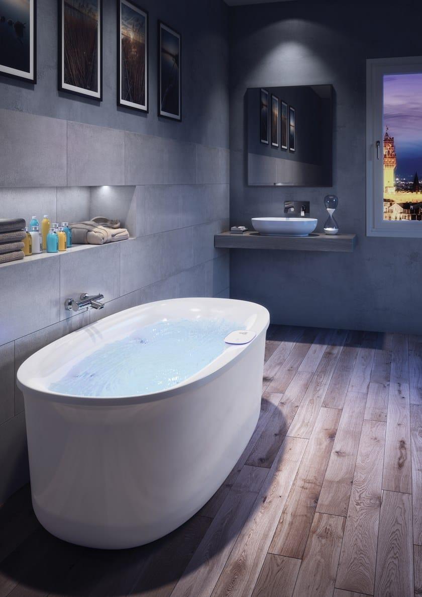 ARGA | Freestanding bathtub Arga Collection By Jacuzzi