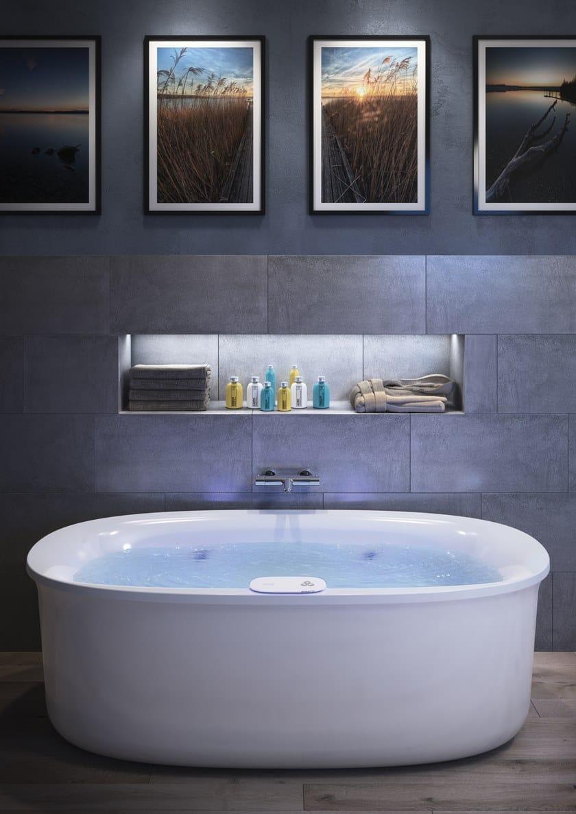 ARGA   Freestanding bathtub Arga Collection By Jacuzzi