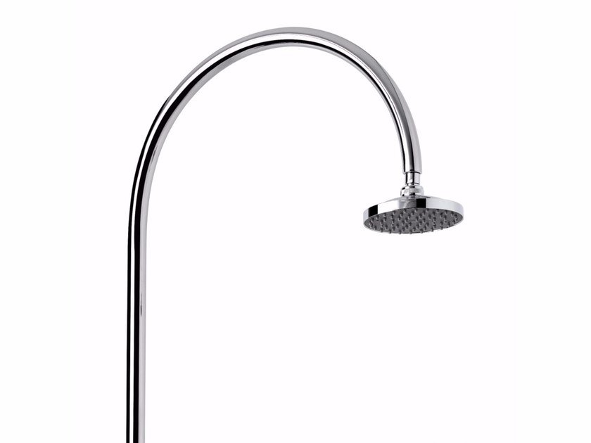 Stainless Steel Outdoor Shower Aria Cylinder Mmt Aria Collection By